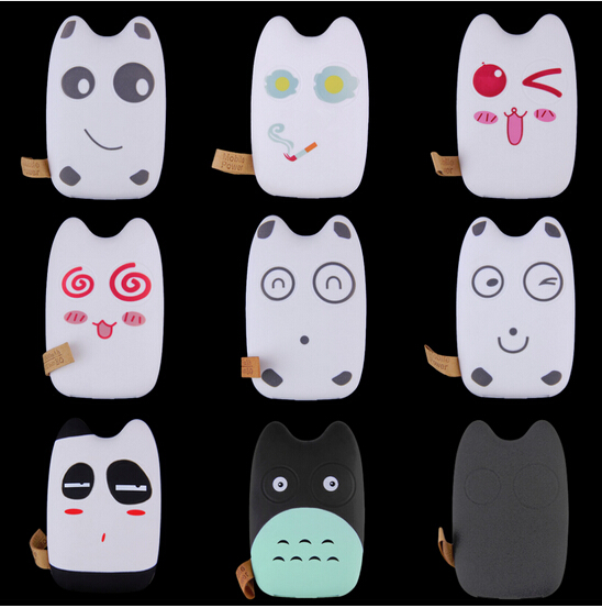 Hottest 7800mAh long lasting high capacity cartoon power bank