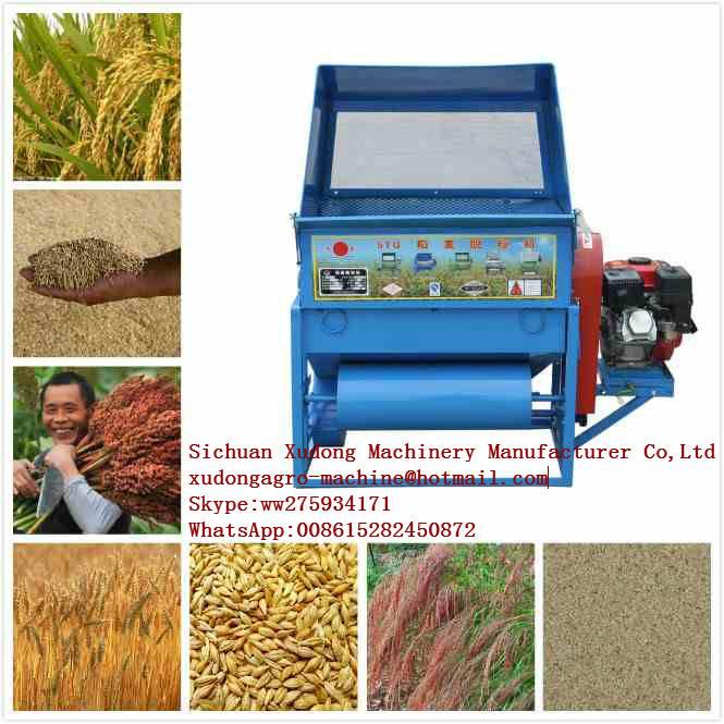 Mini Grains Harvester for Small Scale Farmers