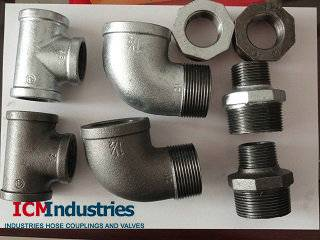 Gal/Black Malleable Pipe Fitting