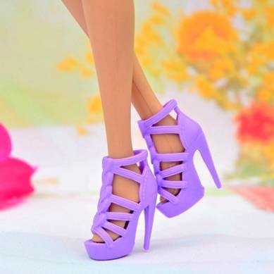 11.5 inch barbiee doll shoes
