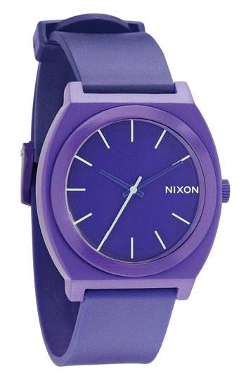 Silicone nixon watch for the time teller p watch