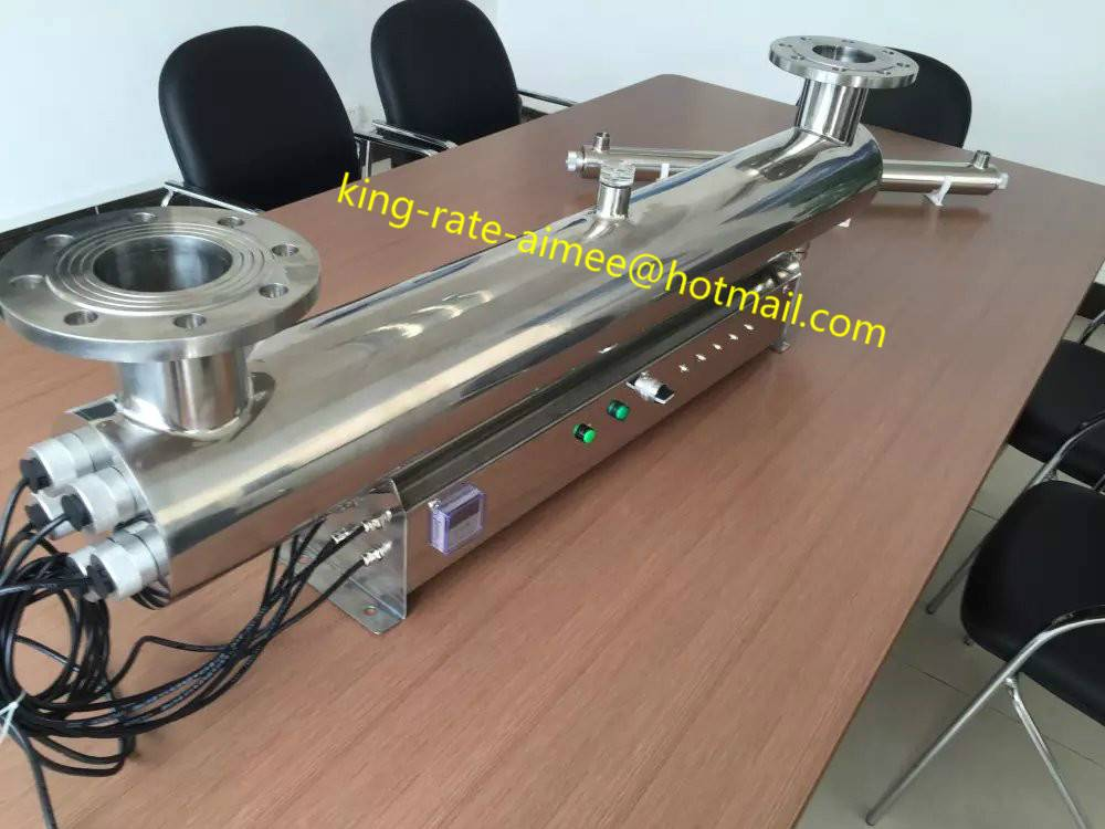 UV sterilizer system for wast water treatment