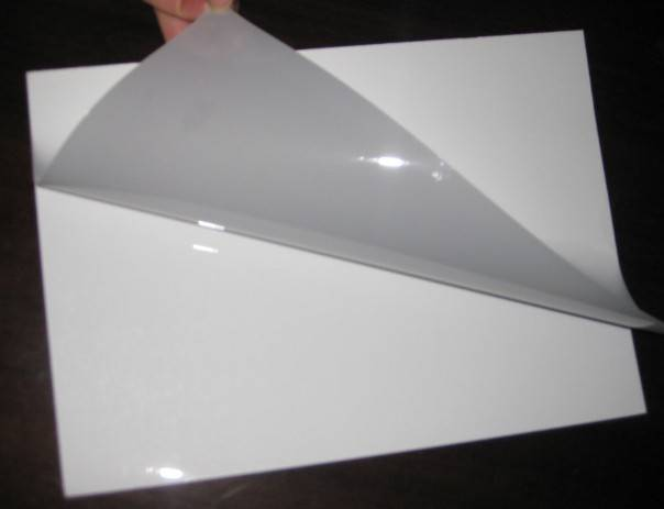 inkjet printing PET crystal phote paper