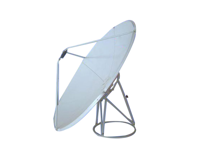 Six Panel Construction Satellite Dish Antenna For Reception Of c Band