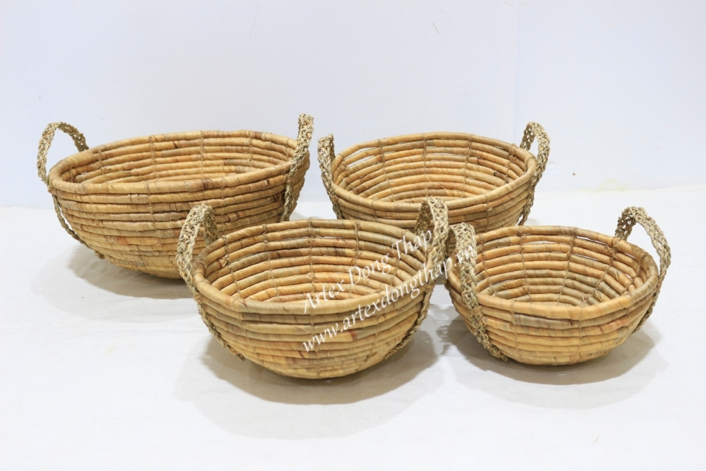 Best selling water hyacinth tray-SD4290A-4NA