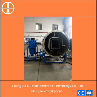 Carbon fiber vacuum graphitizing furnace