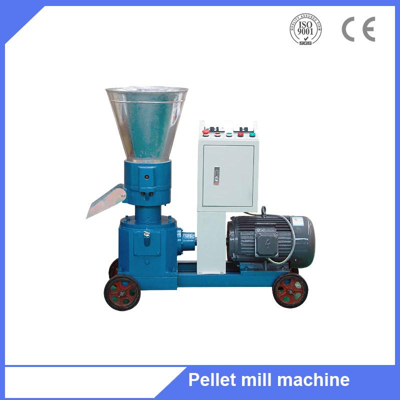 Poultry feed capacity 300-400kg/h flat die feed granulator press machine