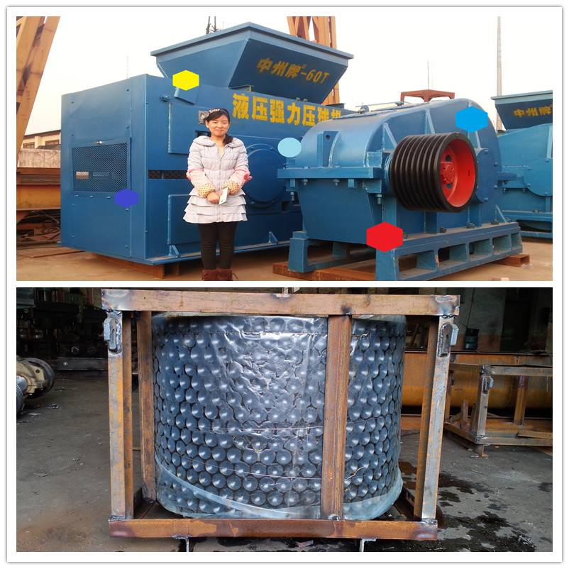 coal briquette machine with high output