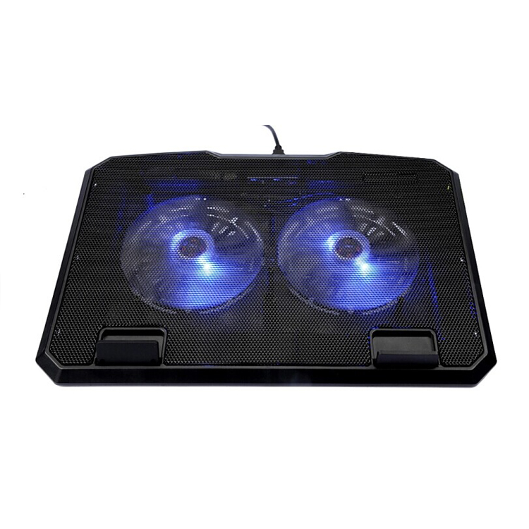 NCP78B Adjustable gaming cooling laptop cooler pads tabld with cooling pads 2 USB