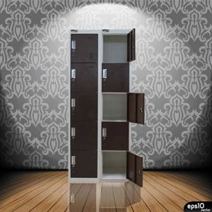 office furniture china steel 5 tier locker