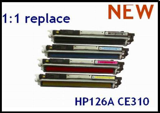 HOT Sell brand new/compatible toner cartridge for HP Printers, toner cartridge CE310  CE311A  CE312A