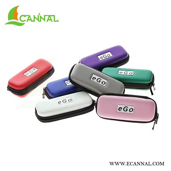 Ecannal classic eGo electronic cigarette zipper carrying packaging case