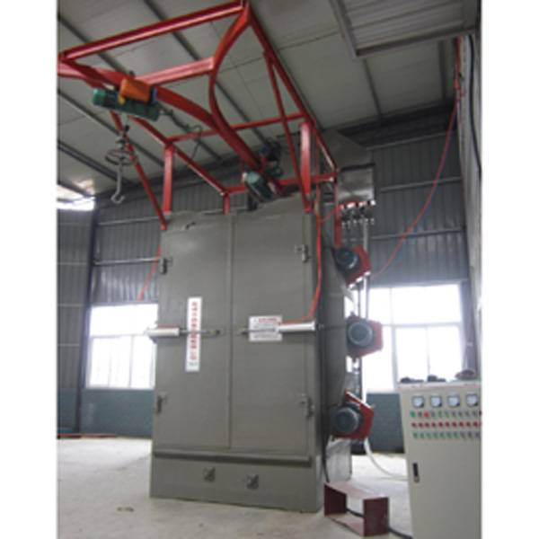 Dingtai double hanger type shot blasting machine