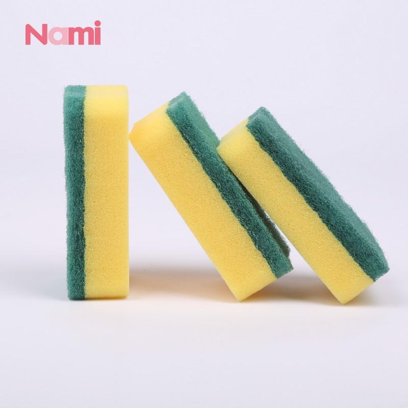 Manufacturer Polyester Fiber Non-Scratch Scouring Pad Kitchen Scouring Pad Sponge Scourer
