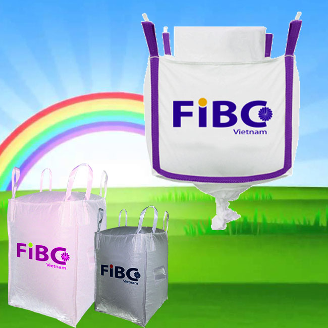 FOOD GRADE FIBC BAG JUMBO BAG/ BULK BAG/ BIG BAG/ CONTAINER BAG/ SUPER SACK IN VIETNAM