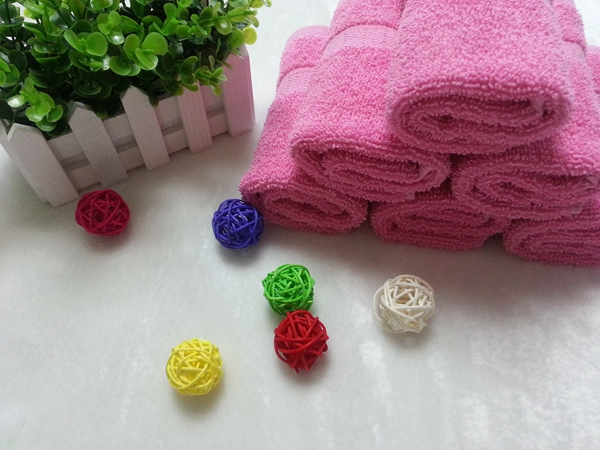 100%cotton colorful terry towel