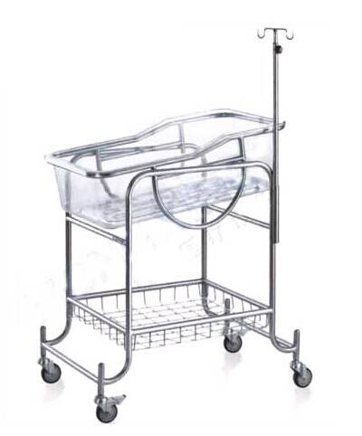 stainless steel hospital bed for infant