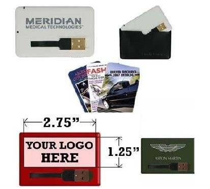 Credit card usb 2.0 flash memory with full printing for gifts