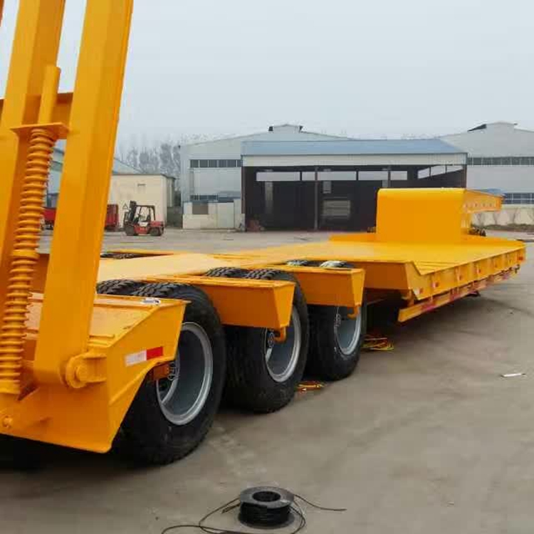 Durable quality 3 Axles lowbed trailer for sale