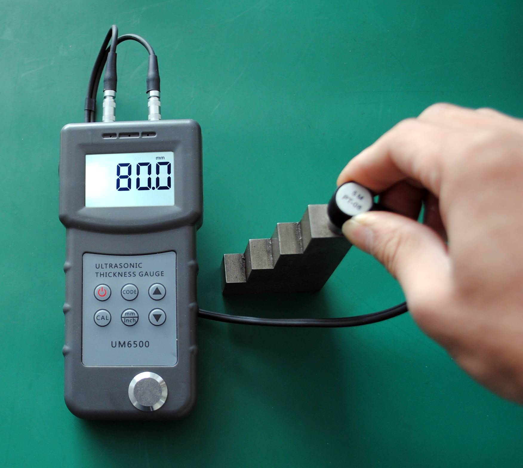 UM6500 Digital Ultrasonic Thickness Gauge
