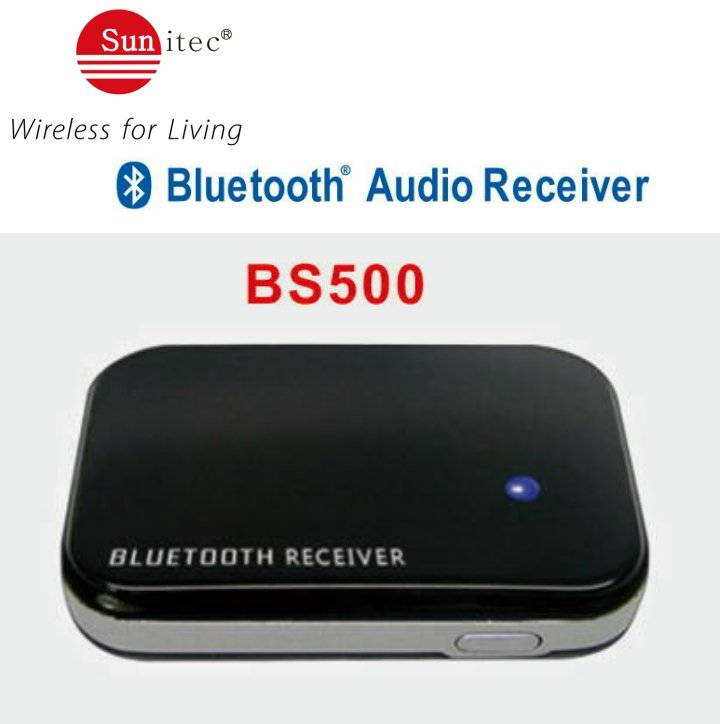 Wireless Bluetooth Audio Music Receiver Adapter