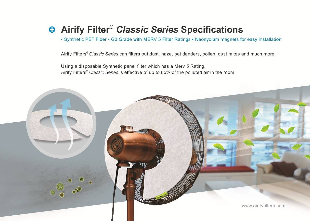Airify HEPA Fan Filter
