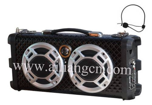 portable speaker-AILIANG-USBFM-F25PK