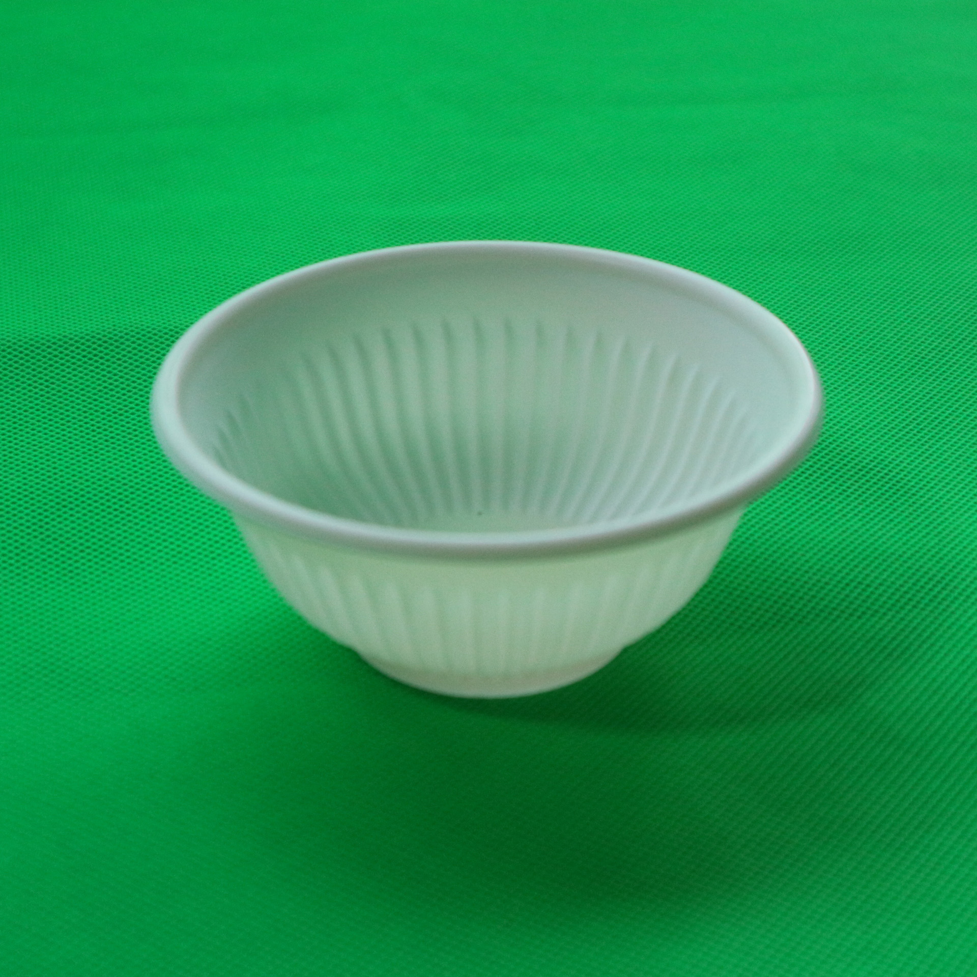 One Time Use Tableware Take Away Cornstarch Disposable Bowl
