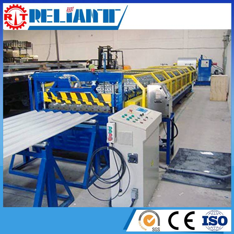 Corrugated, Sinusoidal Roll Forming Line