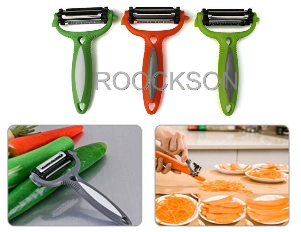 Multi-Function Stainless Steel Vegetable and Fruit Peeler Parer