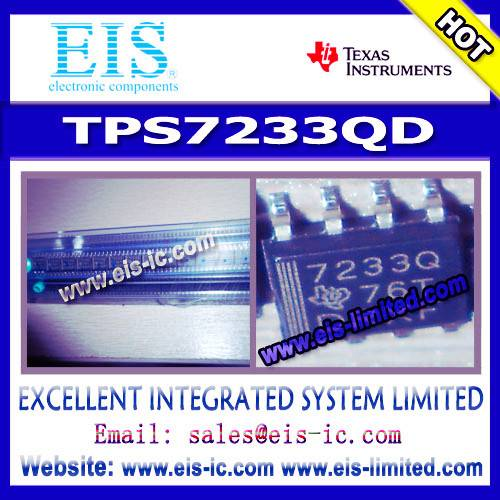 TPS7233QD - Texas Instruments (TI) - MICROPOWER LOW-DROPOUT (LDO) VOLTAGE REGULATORS