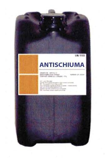Silicone anti-foam to eliminate Foam