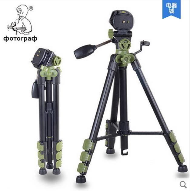 camera tripod with three-dimension damping head