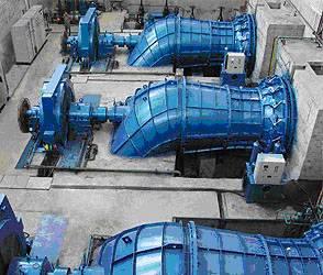hydro turbine generator set for waterpower station tubular type