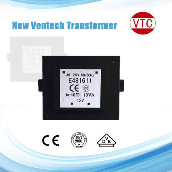 10VA EI series epoxy resin potting PCB mount power transformer AC transformer with VDE UL approval