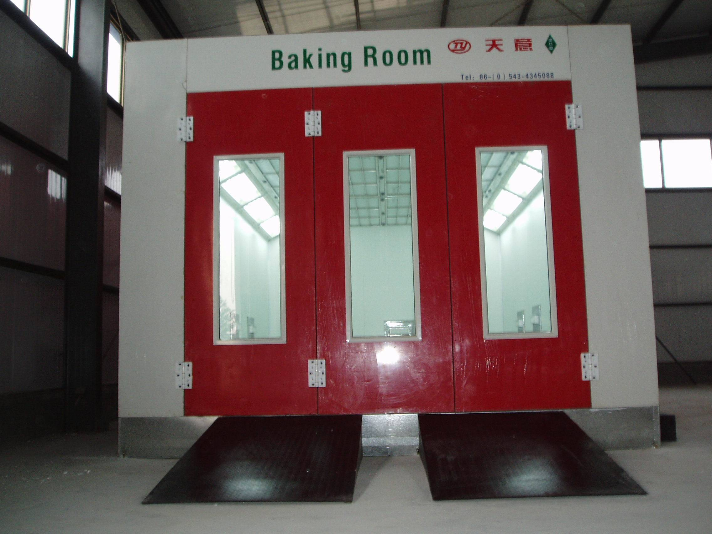 Tianyi factory popular spray booth/spray paint booth/spray booth car