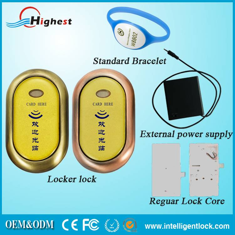 Electric Locker Lock Sauna Lock With Free Software For Swimming Pool Sauna