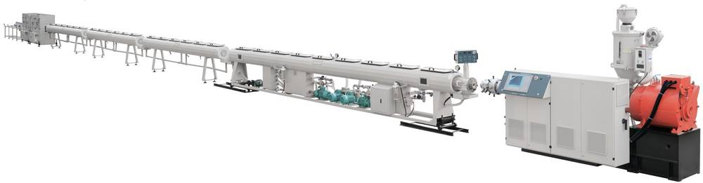 High Speed PE-RT Pipe Extrusion Line