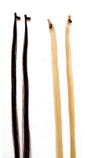 Ring tip pre-bonded hair extension