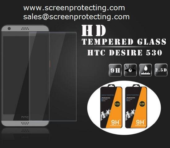 Screen Guard Protection 2.5D Screen Shield 9H Tempered Glass Screen Protector for HTC Desire530