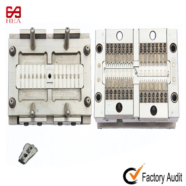 Zinc alloy die casting mould for Auto Lock Zipper Slider