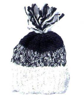 man fashion knitted hat