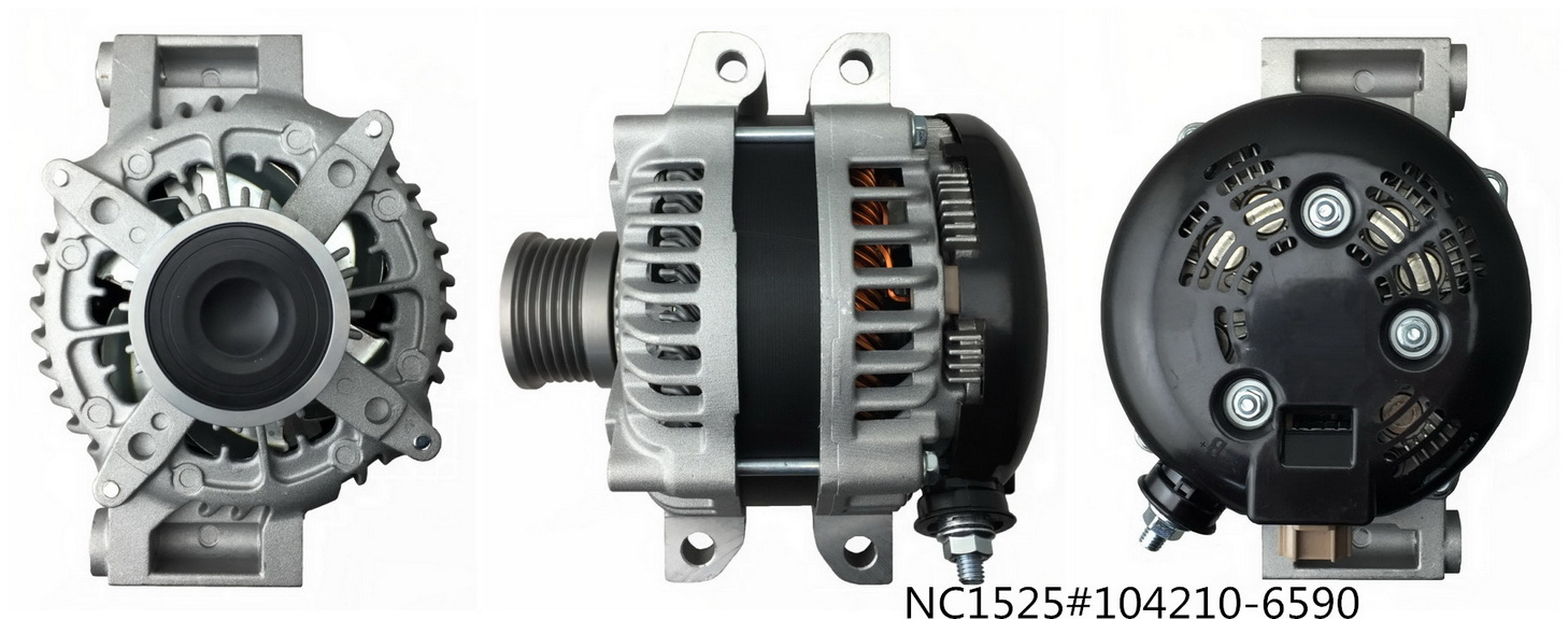 Denso Alternator NC1525 (12V 180A,104210-6590)