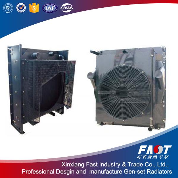 Good quality Doosan P180FE Diesel genset radiator on sale
