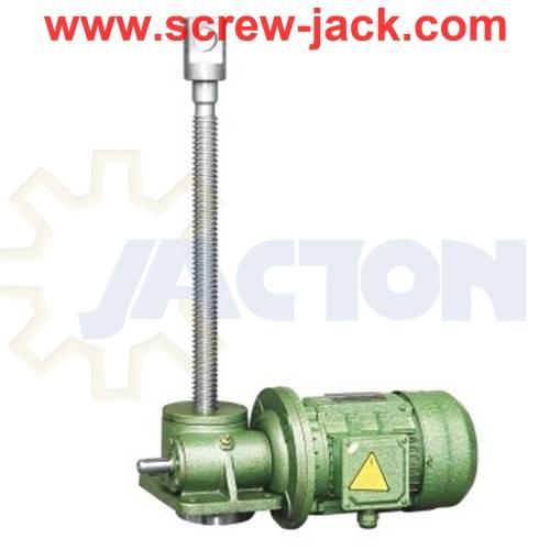 Worm Gear Motor Jack, Motorised Scissor Screw Jack, How To Design A