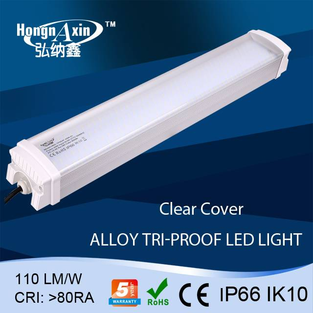 High Efficiency 2ft 20w/30w/40w/50w led tri-proof light for supermarket