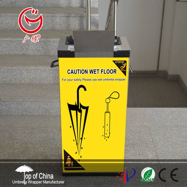 2 sizes options umbrella wrapping machine