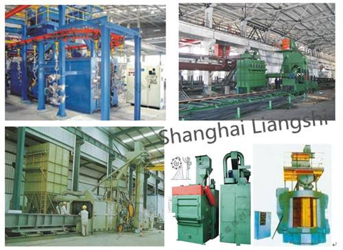 Shot Blasting and Pretreatment Line