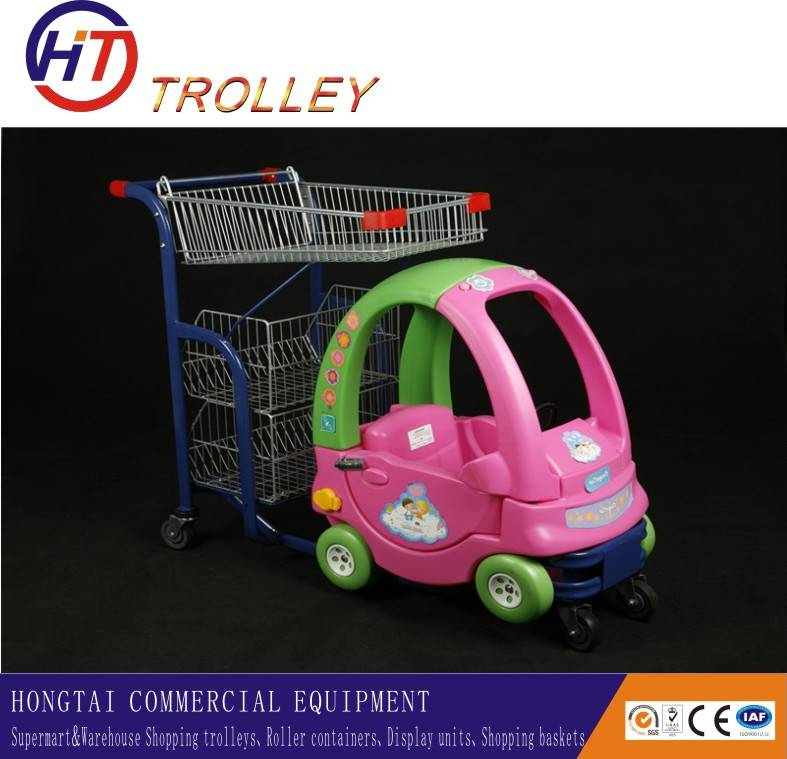 Child Toy Shopping Carts Shopping Mall Kids Car for Sale