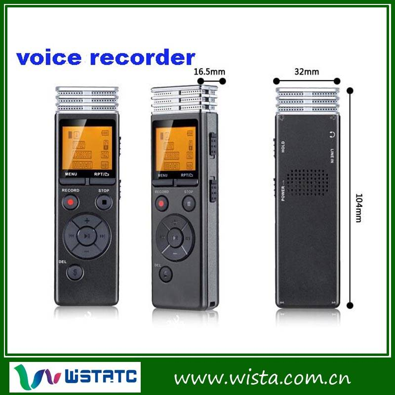 Portable digital voice recorder pen